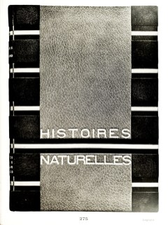 Jules Renard - Histoires Naturelles. Paris, 1899, in-4. Binding - P. Lagrain