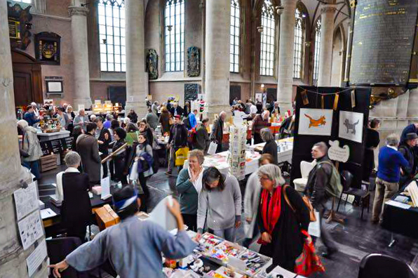 2018.11.06 - Boekkunstbeurs 2016 (Book Arts Fair) in Leiden, the Netherlands 01