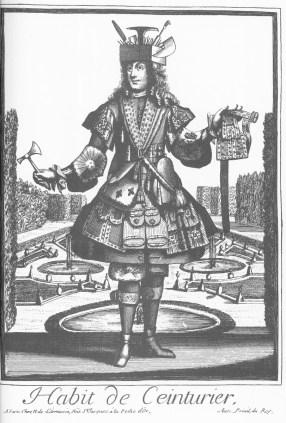 Nicolas de Lermessin - Costumes grotesques - Habit de ceinturier