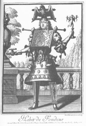 Nicolas de Lermessin - Costumes grotesques - Habit de fondeur