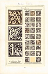 2018.11.28 - Cloister Initialsby Frederic Goudy in ATF Specimen Book 01