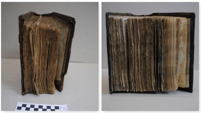2018.11.30 - Restoration of an 18th-Century Slavonic Liturgical Book - Before and after - Book structure