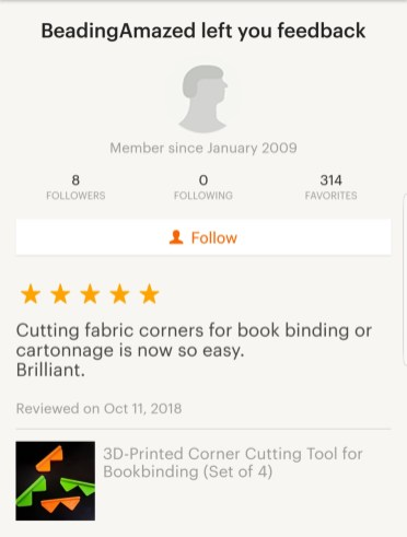 2018.12.03 - Reviews of BonefolderClub - Shop of iBookBinding at Etsy 02