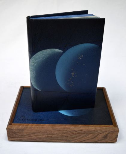 2018.12.07 - Designer Bookbinders 14.1 - Highly Commended Certificate (given by The Antiquarian Booksellers Association) - GLENN MALKIN - The Illustrated Man by Ray Bradbury