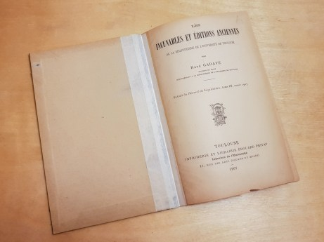 Front endleaf and the title page