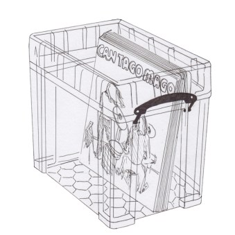2019.02.04 - Comics Things to Avoid During Restoration - polypropylene transparent archival box