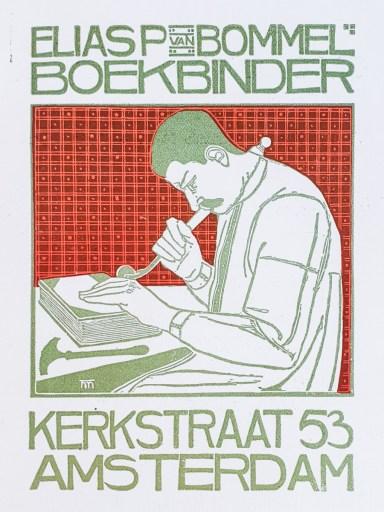 2019.02.21 - Amazing Century-Old Book Industry Ads - Elias van Bommel Boekbinder 2