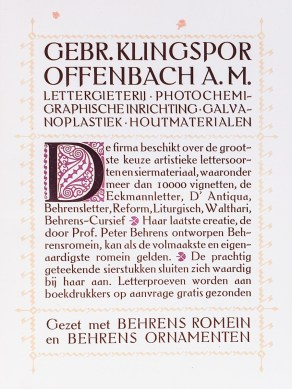 2019.02.21 - Amazing Century-Old Book Industry Ads - Gebr. Klingspor-Offenbach 2