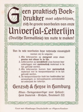 2019.02.21 - Amazing Century-Old Book Industry Ads - Lettergieterij Genzsch and Heyse 3