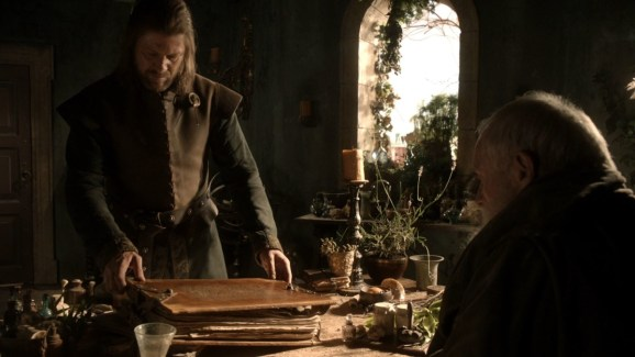 GoT S01E04 00.21.35 - The Lineage and Histories of the Great Houses of the Seven Kingdoms