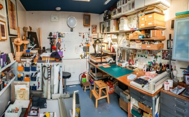 2019.03.08 - Visiting Nautilus Boekbinderij - Studio of Eliane Gomes in Haarlem, the Netherlands 01