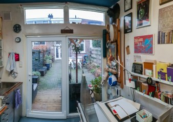 2019.03.08 - Visiting Nautilus Boekbinderij - Studio of Eliane Gomes in Haarlem, the Netherlands 03