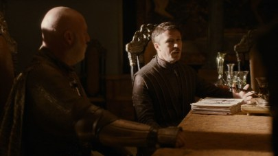 GoT S02E01 00.06.41 - Petyr Baelish's ledger