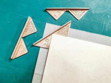 2019.05.28 - Steel and Brass Versions of the Corner Cutting Jig by iBookBinding 07