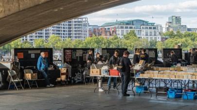 2019.09.08 - Southbank Book Market in London 06