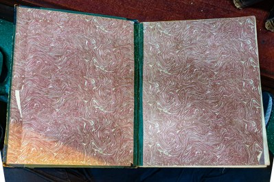 2019.09.22 - Deceptive Printed Marbled Paper From the 19th and Early 20th Centuries - Endleaves First Cover