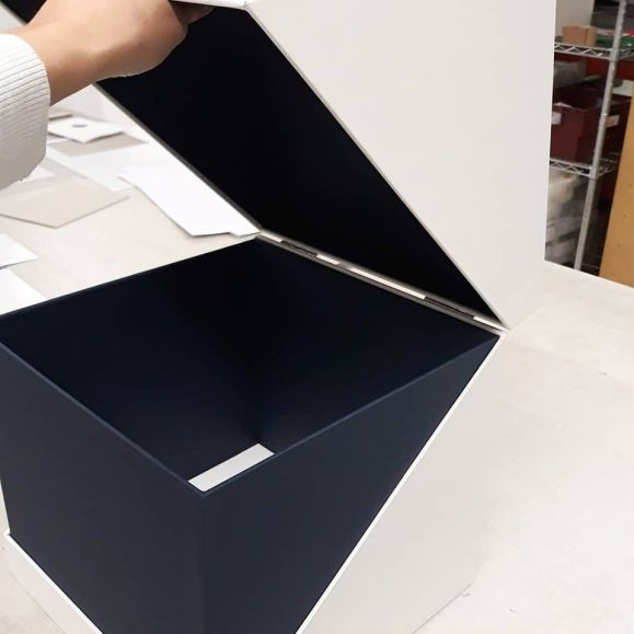 2019.10.07 - Inspiring Bookbinding Projects of September - Hinged Cubic Box by Sarah Baldi 04