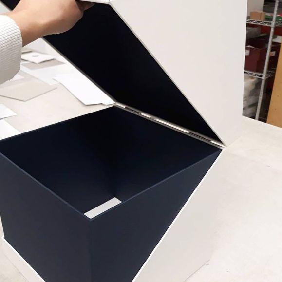 2019.10.07 - Inspiring Bookbinding Projects of September - Hinged Cubic Box by Sarah Baldi 04