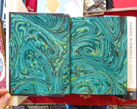 2019.10.11 - Marcel Proust and His Turquoise Marbled Papers 05