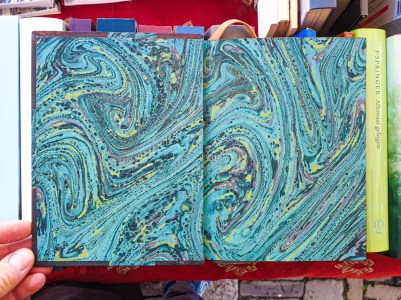 2019.10.11 - Marcel Proust and His Turquoise Marbled Papers 08