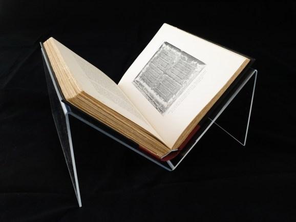 2019.10.14 - iBookBinding Introduces New Item - Plexiglas Book Cradles 4