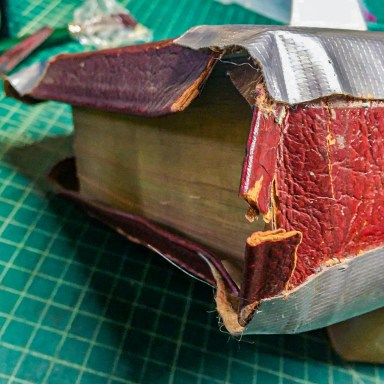 2019.11.05 - How Not to Repair Your Bible With Duct Tape 2