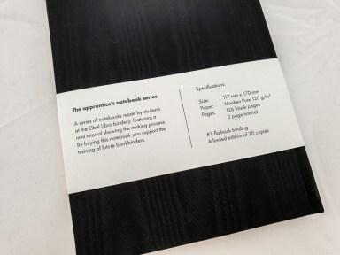 2019.11.14 - Apprentice's Notebook by Elbel Libro 3