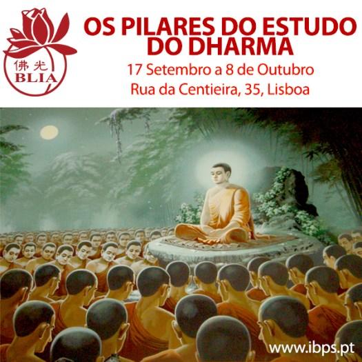 Estudos - pilares do estudo do dharma