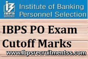 IBPS PO CUT OFF 2017 PRELIM MAIN EXAM