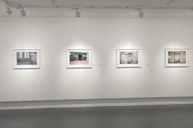 Ammar Al Attar, Prayer Room, 2012, installation view, twenty photographs, lambda c-print, matte. Courtesy of the artist and Cuadro Fine Art Gallery. Image courtesy of Sharjah Art Foundation.