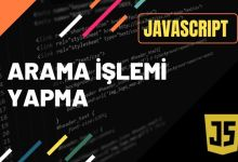 Photo of Javascript İle Metin İçinde Arama Yapma