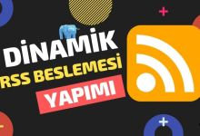 Photo of PHP ile Dinamik RSS Yapımı