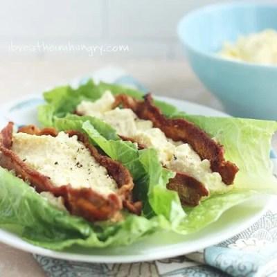 Keto Egg Salad from Mellissa Sevigny at I Breathe I'm Hungry