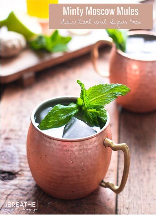 Low Carb Moscow Mule (Sugar Free) - I Breathe I'm Hungry