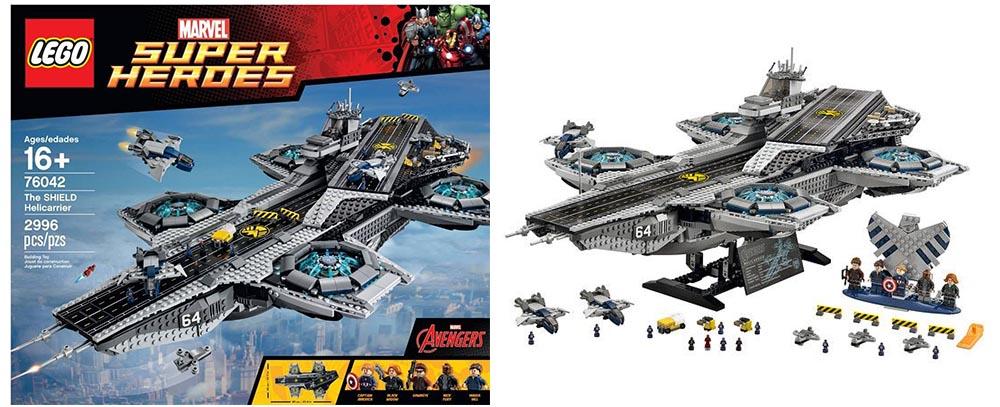 Lego SHIELD HeliCarrier!   D.B.R.C. RACING