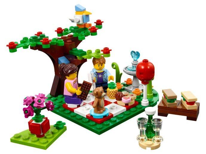 Lego 40236 Seasonal Romantic Valentine Picnic I Brick City