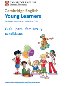 Folleto cursos de cambridge English para niños Sevilla
