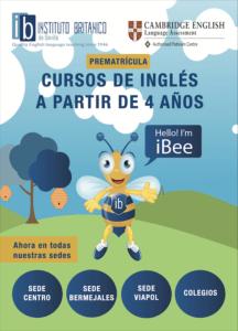 Brochure- ibee-iBee-1- inglés para niños 4-6 años-Sevilla