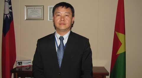SHEN Cheng-Hong, ambassadeur de la Chine-Taïwan au Burkina