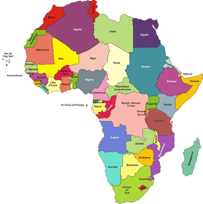Carte Afrique Avec Pays.Entreprendre En Afrique 2017 Les Pays Les Plus Favorables