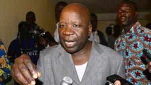 Le ministre d'Etat Simon Compaoré