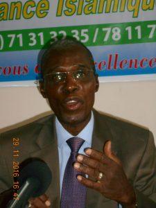 M. Damos Justin Bara, Président du comité d'organisation et Administrateur de la COGENT International