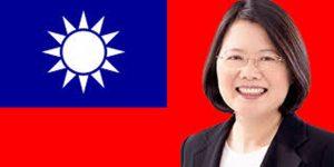 La présidente taïwanaise Tsai Ing-wen à félicité son homologue américain pour son élection