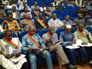 Les députés lors de la  première session extraordinaire de l'année 2017