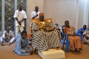 Sa Majesté le Mogho Naba Baongho, Chef Suprême des Mossé et des Samo