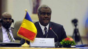 Le nouveau Président de la Commission de l'UA, le Tchadien Moussa Faki Mahamat