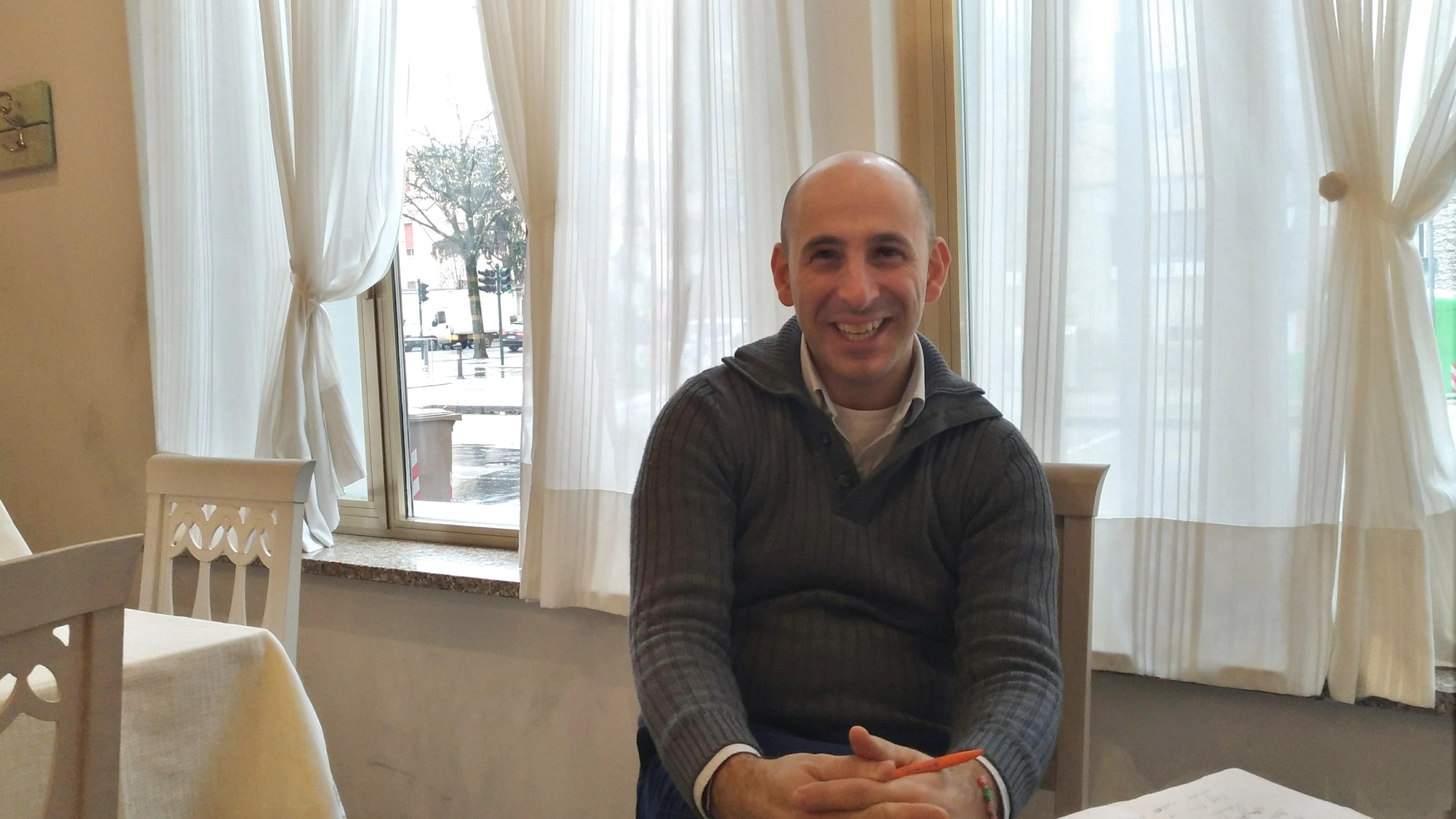Salvatore Buonocore | General Manager Ristorante Pizzeria Luna Blu Parma