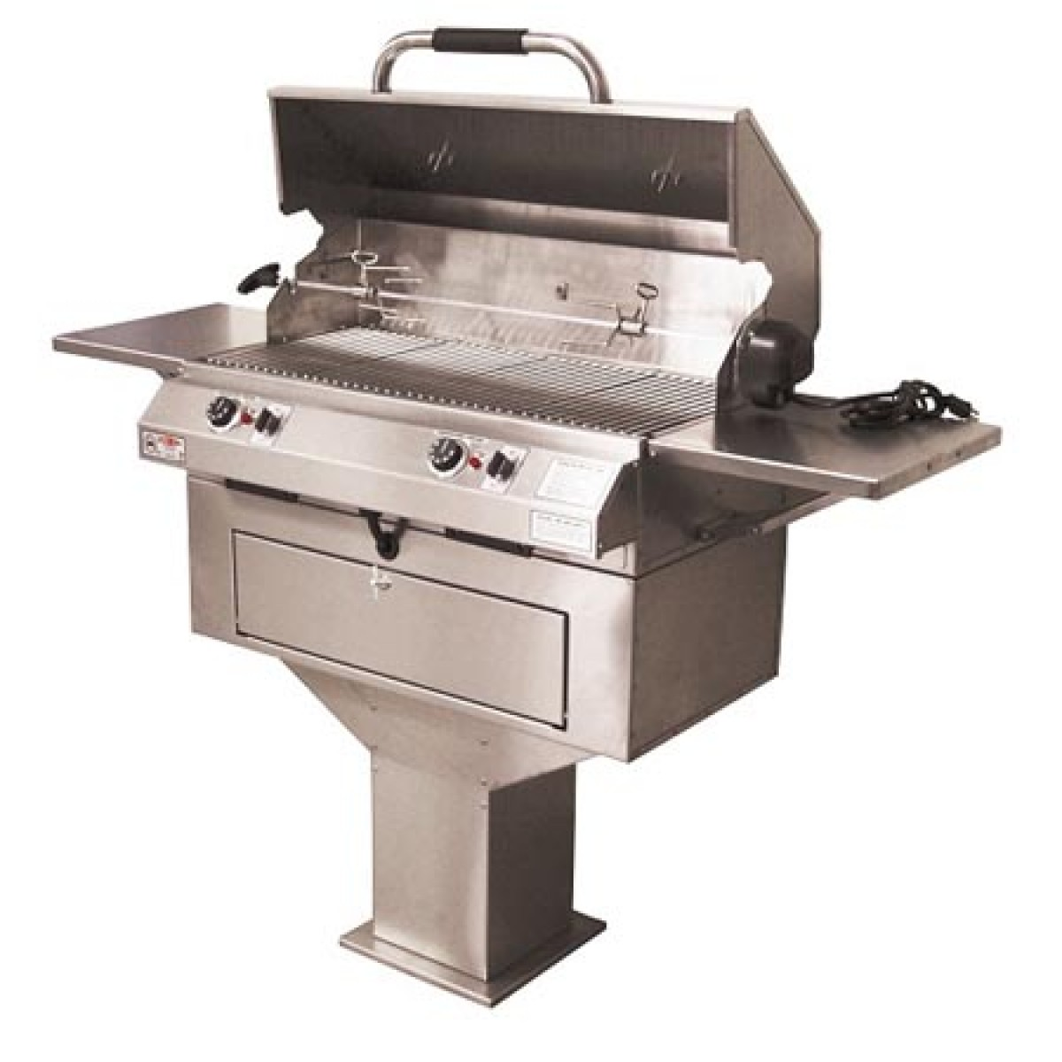 Electri Chef Series 32in Pedestal Base Barbecue