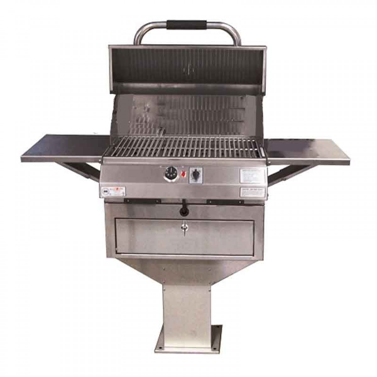 Electri Chef Series 24in Pedestal Base Barbecue