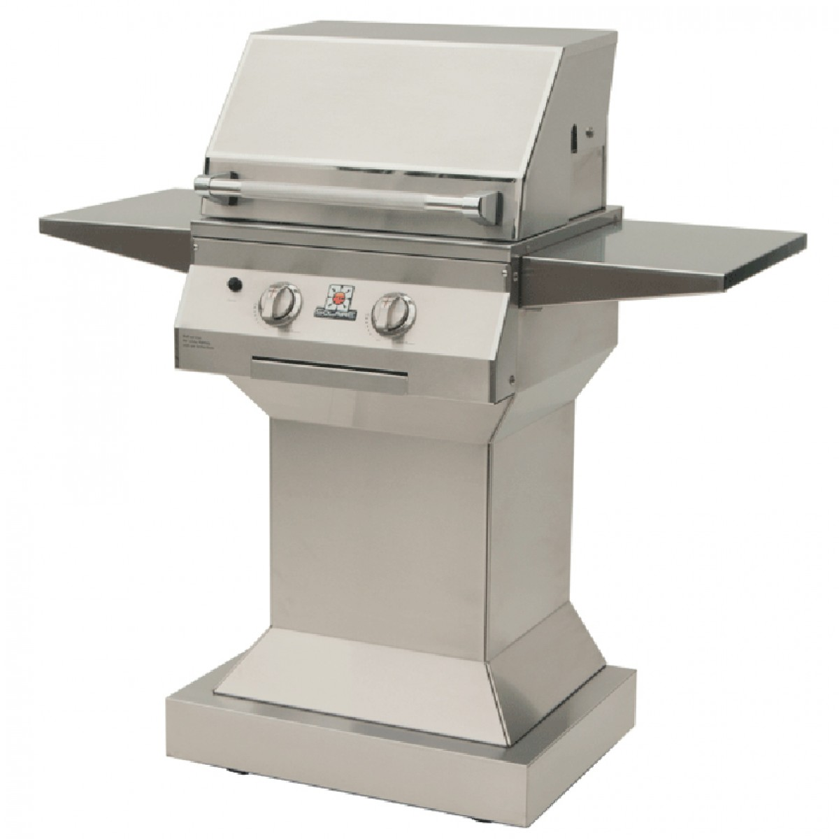 Solaire Sol Irbq 21gir Ped Lp 21 Lp Infrared Grill On